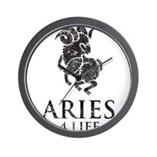 Aries 4 Life Wall Clock