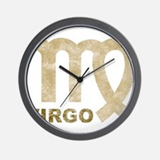 Vintage Virgo Wall Clock
