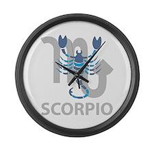 Scorpio Large Wall Clock