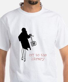 Off to the Library Shirt