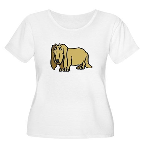 Dog Women's Plus Size Scoop Neck T-Shirt