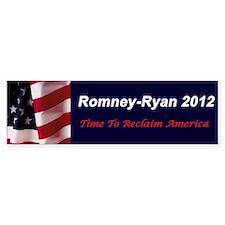 Romney Ryan 2012 Bumper Bumper Sticker
