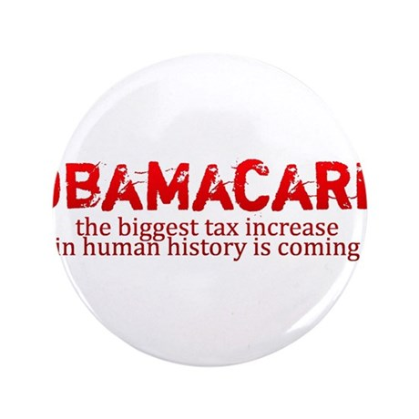 "Obamacare biggest tax increase in history 3.5"" But"