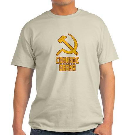 Comrade Obama Anti-Obama 2012 Light T-Shirt