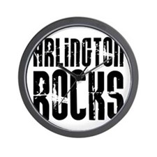 Arlington Rocks Wall Clock