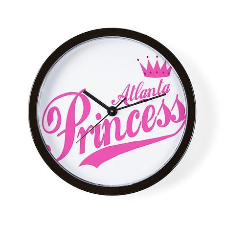 Atlanta Princess Wall Clock