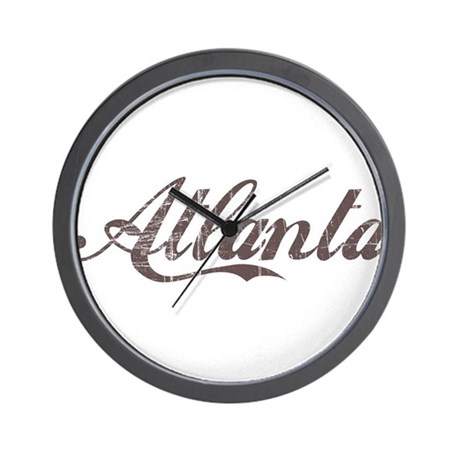 Vintage Atlanta Wall Clock