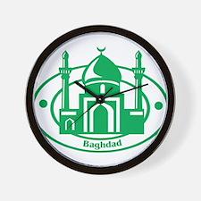 Baghdad Wall Clock