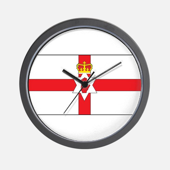 Northern Ireland Flag Wall Clock