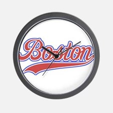 Retro Boston Wall Clock