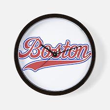 Retro Boston Wall Clock