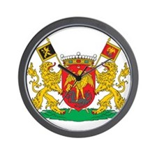 Brussels Coat Of Arms Wall Clock