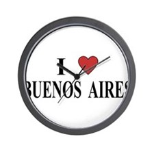 I Love Buenos Aires Wall Clock
