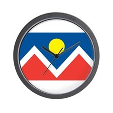 Denver Flag Wall Clock