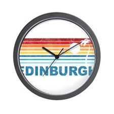 Palm Tree Edinburgh Wall Clock