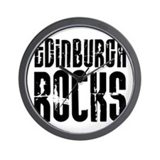 Edinburgh Rocks Wall Clock