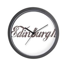 Vintage Edinburgh Wall Clock