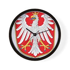 Frankfurt Coat Of Arms Wall Clock