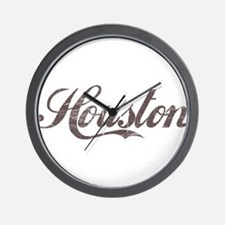 Vintage Houston Wall Clock