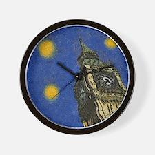 London Starry Night Wall Clock