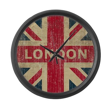 Vintage London Large Wall Clock