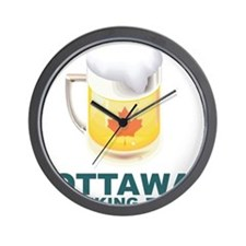 Ottawa Drinking Team Wall Clock