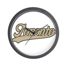 Retro Toronto Wall Clock