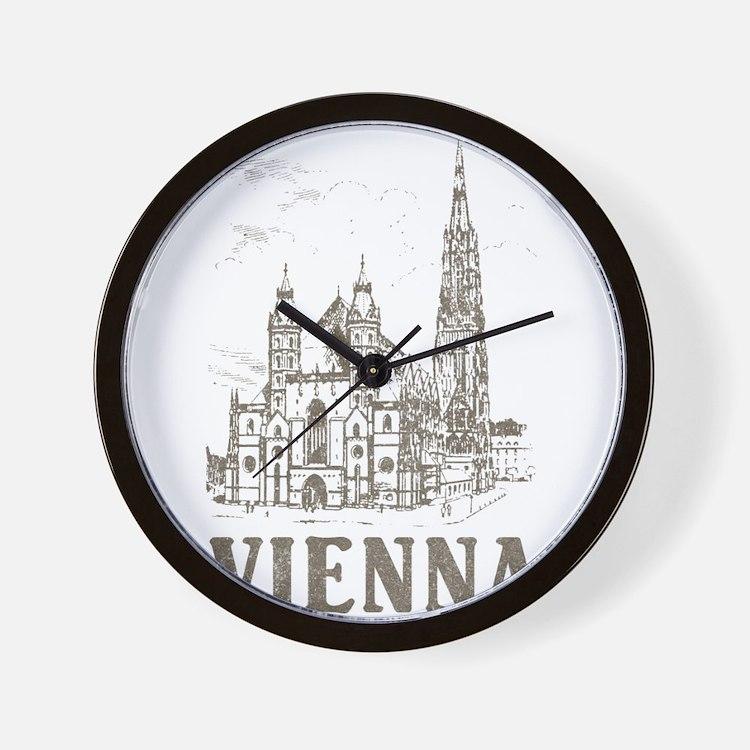 Vintage Vienna Wall Clock
