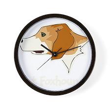 Got Foxhound Wall Clock