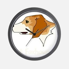 Got Foxhound Wall Clock