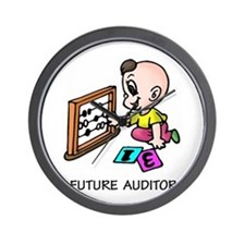 Future Auditor Wall Clock