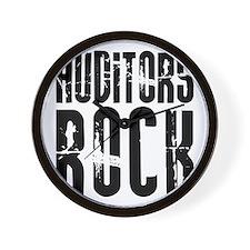 Auditors Rock Wall Clock