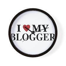 Love My Blogger Wall Clock