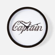 Vintage Captain Wall Clock