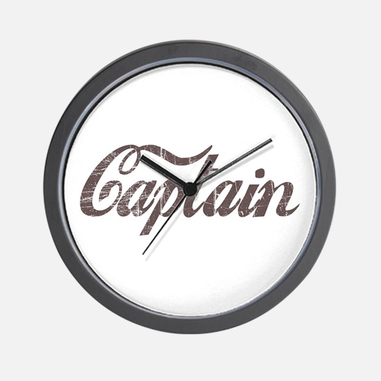 Vintage Captain Wall Clock