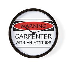 Attitude Carpenter Wall Clock
