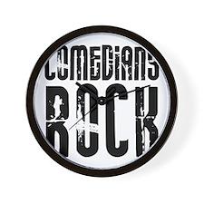 Comedians Rock Wall Clock