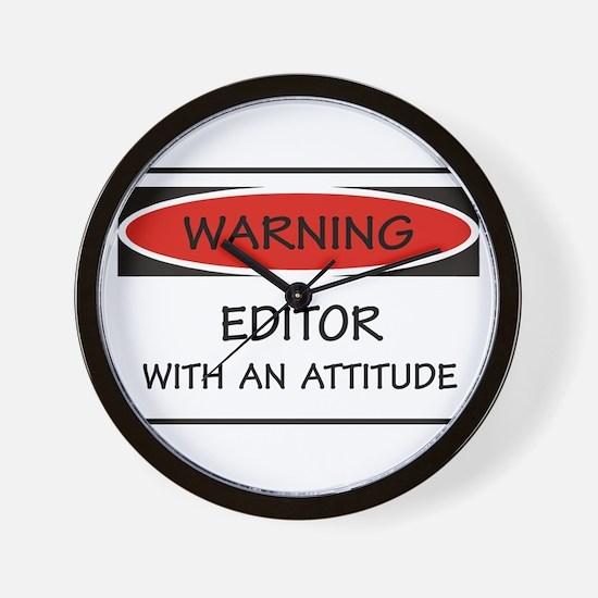Attitude Editor Wall Clock
