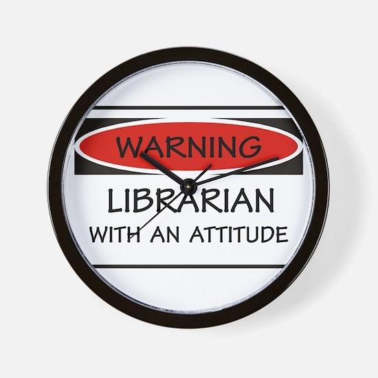 Attitude Librarian Wall Clock
