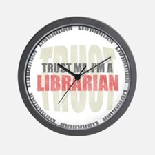 Trust Librarian Wall Clock