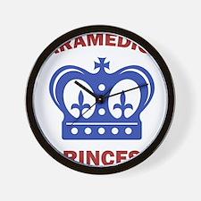 Paramedic's Princess Wall Clock