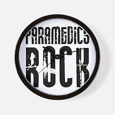 Paramedics Rock Wall Clock