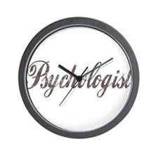 Vintage Psychologist Wall Clock