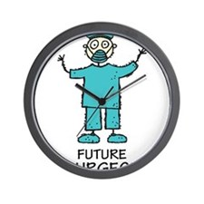 Future Surgeon Wall Clock