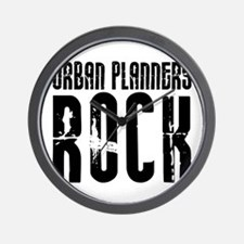 Urban Planners Rock Wall Clock