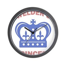 Welder Princess Wall Clock