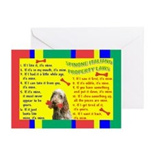 Unique Spinone Greeting Cards (Pk of 10)