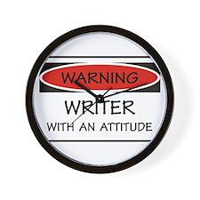 Attitude Writer Wall Clock