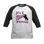 Country Girl Kids Baseball Jersey