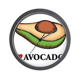 Avocado Wall Clocks